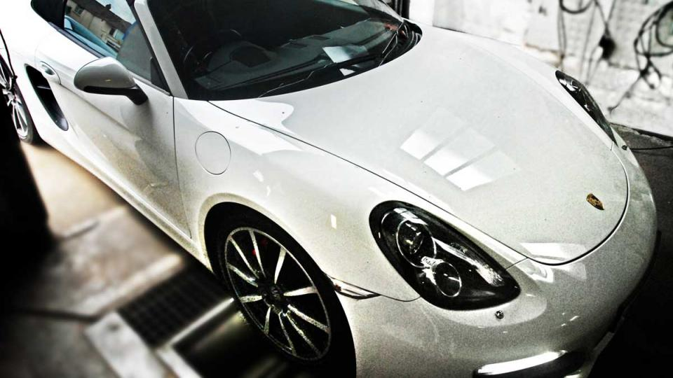Porsche Boxster specialist repair service by Braunton Engineering
