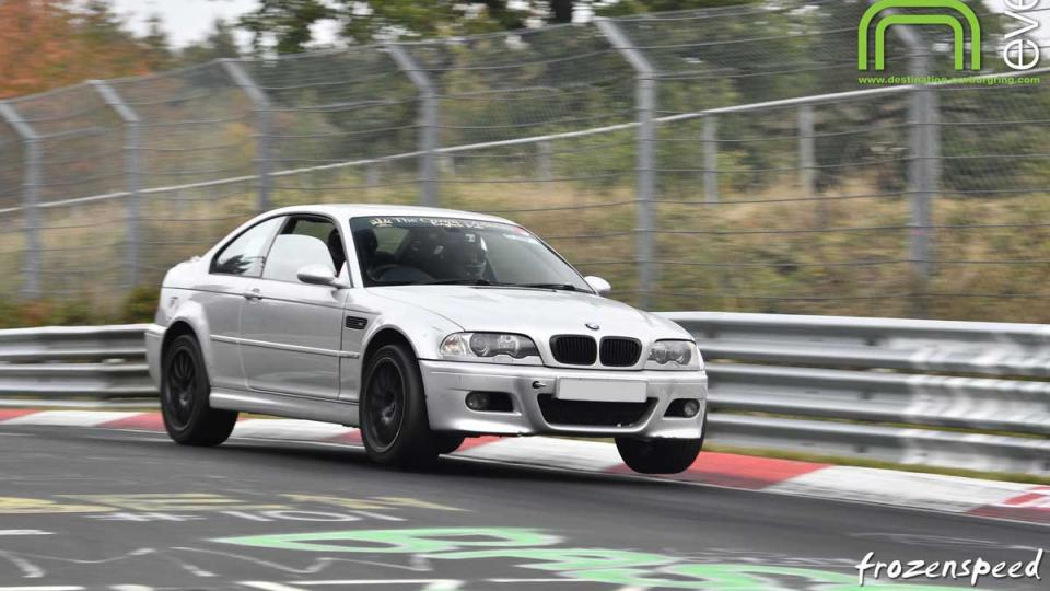 Devon Racing BMW M3 at the Nurburgring