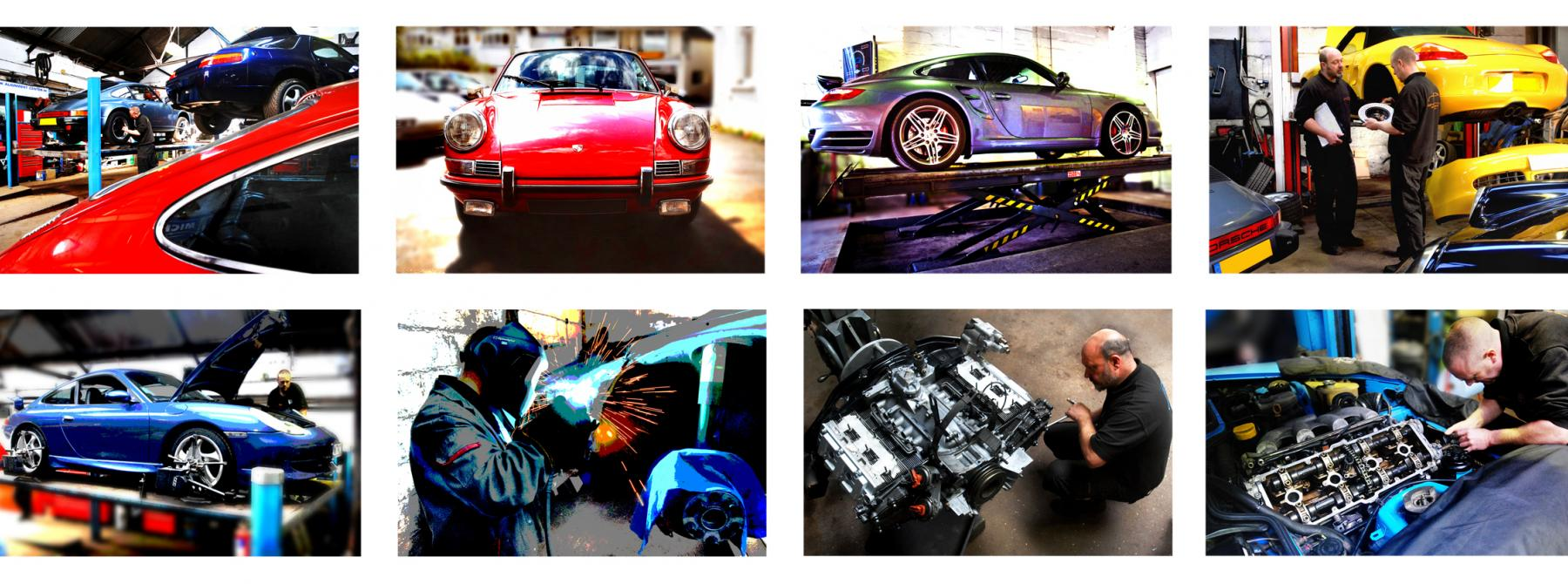 Porsche Specialist service and repair in Devon