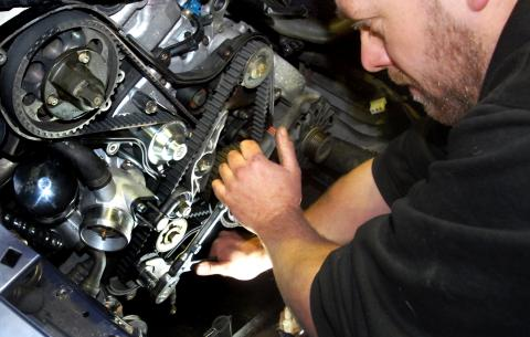 Porsche 944 cambelt & water pump replacement every 4 years