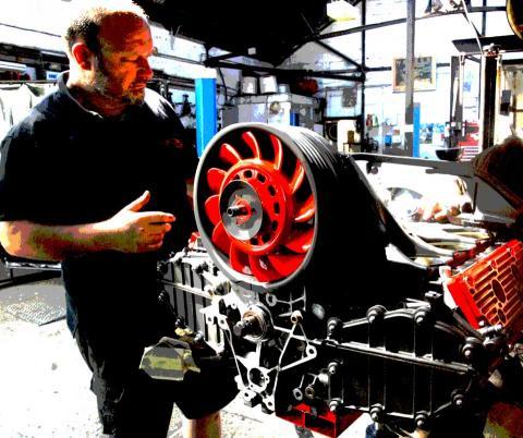 nine eleven Porsche engine rebuild by specialist Braunton Engineering