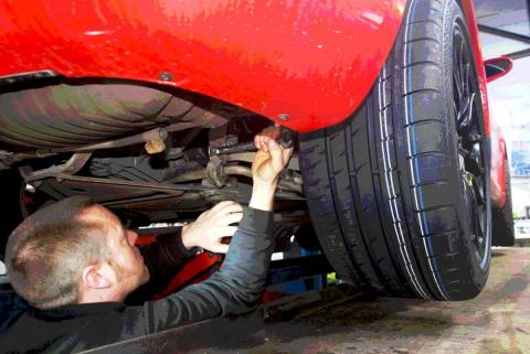 suspension geometry adjustment and alignment from Braunton Engineering