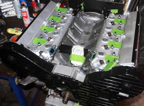 928 engine rebuild by V8 engine specialist Braunton Engineering