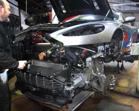 Aston Martin V12 Engine Rebuild