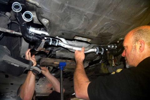 987 Boxster & Cayman front water pipe leak replacement